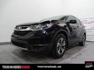 Used 2018 Honda CR-V LX + 2WD + TURBO + BLUETOOTH + CAMERA ! for sale in Trois-Rivières, QC