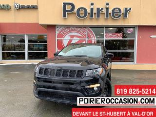 Used 2021 Jeep Compass Altitude CUIR for sale in Val-D'or, QC