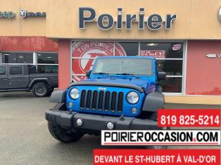 Used 2015 Jeep Wrangler Sport MANUELLE for sale in Val-D'or, QC