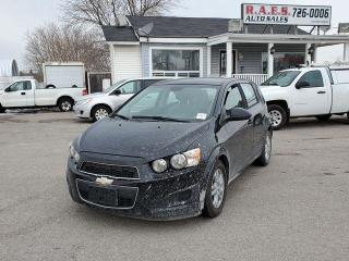 Used 2012 Chevrolet Sonic LS for sale in Barrie, ON