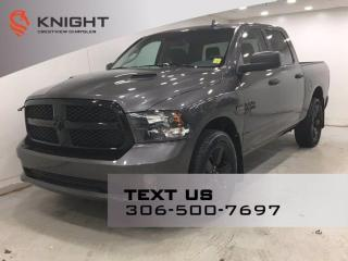 Used 2019 RAM 1500 Classic Express Night Edition Crew Cab | Remote Start | for sale in Regina, SK