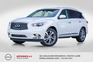 Used 2014 Infiniti QX60 TOURING DELUXE TOURING&TECH / NAVIGATION /DVD/CUIR / TOIT PANORMIQUE / ANGLES MORTS for sale in Montréal, QC