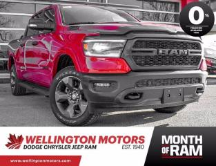 New 2021 RAM 1500 Big Horn >> Bug Deflector Added  !! for sale in Guelph, ON