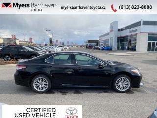 Used 2019 Toyota Camry Hybrid XLE  - Certified - Sunroof - $215 B/W for sale in Ottawa, ON
