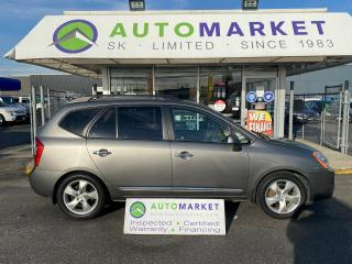 Used 2009 Kia Rondo EX V6 7 PASSENEGER LEATHER! FREE BCAA & WRNTY! IN HOUSE FINANCE IT! for sale in Langley, BC