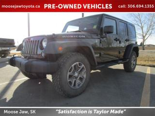Used 2014 Jeep Wrangler Unlimited Rubicon RUBICON for sale in Moose Jaw, SK