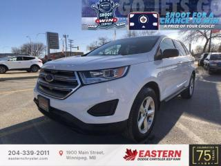 Used 2018 Ford Edge SE   1 Owner   No Accidents   Backup Cam   for sale in Winnipeg, MB