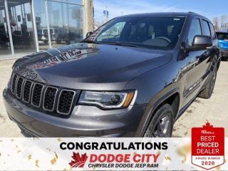 New 2021 Jeep Grand Cherokee 80th Anniversary Edition   4X4 for sale in Saskatoon, SK