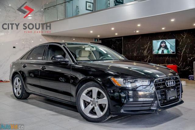 2014 Audi A6 2.0T Progressiv