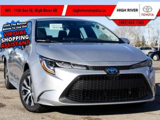 New 2021 Toyota Corolla Hybrid CVT w/Li Battery for sale in High River, AB