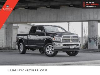 Used 2015 RAM 3500 Laramie  Single Owner/ Leather/ Navi/ Sunroof for sale in Surrey, BC