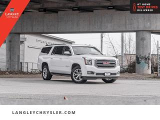 Used 2019 GMC Yukon XL SLT  DVD/ Third Row Seats/ Sunroof/ Leather/ Navi for sale in Surrey, BC