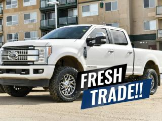 Used 2018 Ford F-350 Super Duty SRW PLATINUM for sale in Red Deer, AB