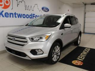 Used 2018 Ford Escape Titanium | 4WD | Sunroof | Heated Leather | Text Starter | One Owner | No accidents for sale in Edmonton, AB