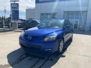 Used 2009 Mazda MAZDA3 GS HATCH MANUAL/AC/POWERGROUP for sale in Edmonton, AB