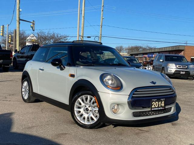 2014 MINI Cooper 2dr Cpe LOW KM SAFETY PANORAMIC ROOF 2 SET OF TIRE