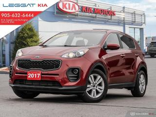 Used 2017 Kia Sportage LX FWD/ CPO UNIT/ 2.79% FINANCING AVAILABLE O.A.C / HEATED SEATS/REARVIEW CAMERA/BLUETOOTH for sale in Burlington, ON