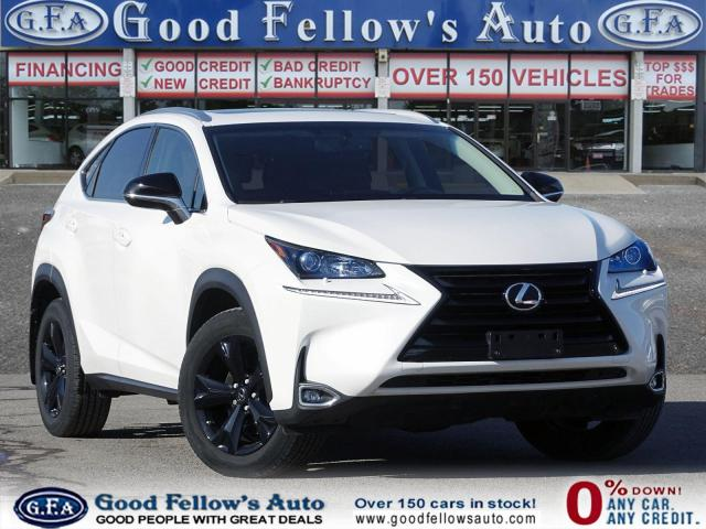 2017 Lexus NX PREMIUM, SUNROOF, LLEATHER SEATS, REARVIEW CAMERA