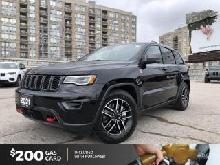 Used 2021 Jeep Grand Cherokee Trailhawk for sale in North York, ON