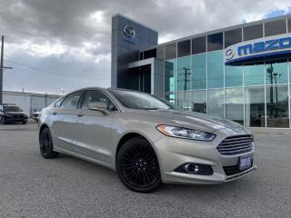 Used 2015 Ford Fusion SE FWD With Navigation for sale in Chatham, ON