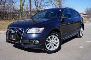 Used 2013 Audi Q5 STUNNING COMBO / NO ACCIDENTS / TECHNIK PACKAGE for sale in Etobicoke, ON
