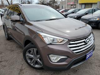Used 2013 Hyundai Santa Fe LIMITED/XL/NAVI/6PASS/CAPTINSEATS/CAMERA/LEATHER++ for sale in Scarborough, ON