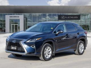 Used 2016 Lexus RX 350 Standard Package for sale in Winnipeg, MB
