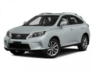 Used 2015 Lexus RX 350 Sportdesign TOURING PACKAGE for sale in Winnipeg, MB
