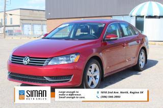 Used 2015 Volkswagen Passat 1.8 TSI Comfortline CLEARANCE PRICED for sale in Regina, SK