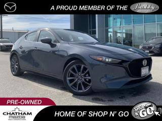 Used 2019 Mazda MAZDA3 GT FWD With Moonroof for sale in Chatham, ON