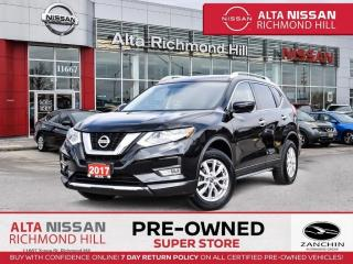 Used 2017 Nissan Rogue SV Tech PKG   360CAM   BSW   Navi   PWR Liftgate for sale in Richmond Hill, ON