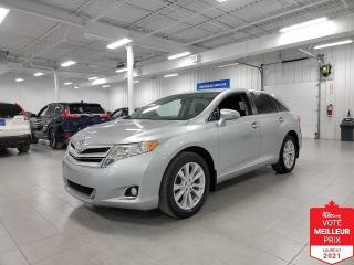 Used 2016 Toyota Venza AWD - CAMERA + JAMAIS ACCIDENTE !!! for sale in Saint-Eustache, QC