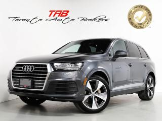 Used 2018 Audi Q7 3.0 TECHNIK S-LINE I 7-PASS I 20 IN WHEELS for sale in Vaughan, ON