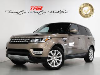 Used 2015 Land Rover Range Rover Sport HSE V6 GAS I PANO I 20 IN WHEELS I NAVI I MERIDIAN for sale in Vaughan, ON