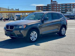 Used 2013 BMW X3 XDRIVE28I LEATHER/PANORAMIC SUNROOF for sale in North York, ON