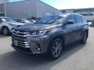 Used 2019 Toyota Highlander XLE Local, One Owner, No Accidents! for sale in North Vancouver, BC