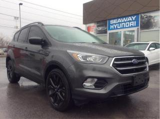 Used 2017 Ford Escape SE - 4WD - Navigation - Bluetooth for sale in Cornwall, ON