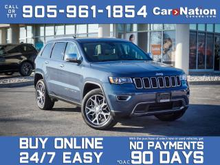 Used 2020 Jeep Grand Cherokee Limited 4x4| COMPANY DEMO| NAVI| LEATHER| for sale in Burlington, ON