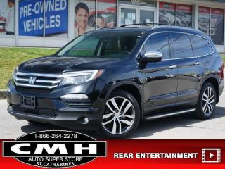 Used 2016 Honda Pilot Touring  NAV LANE-DEP DVD ROOF LEATH 20-AL for sale in St. Catharines, ON