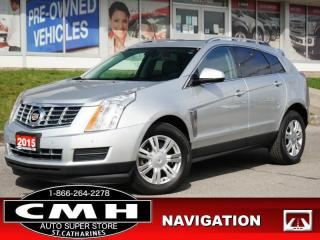 Used 2015 Cadillac SRX Luxury  NAV CAM ROOF LEATH HTD-SEATS 18-AL for sale in St. Catharines, ON