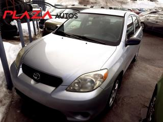 Used 2006 Toyota Matrix 5dr Wgn Manual for sale in Beauport, QC