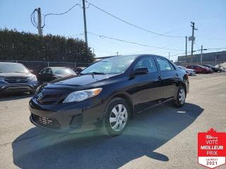 Used 2013 Toyota Corolla CE for sale in St-Eustache, QC
