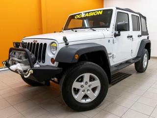 Used 2013 Jeep Wrangler SPORT 4X4 RÉGULATEUR MAGS HITCH *100% APPROUVÉ* for sale in Mirabel, QC