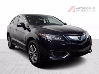 Used 2017 Acura RDX ELITE PACK AWD CUIR TOIT MAGS NAV CAMERA DE RECUL for sale in St-Hubert, QC