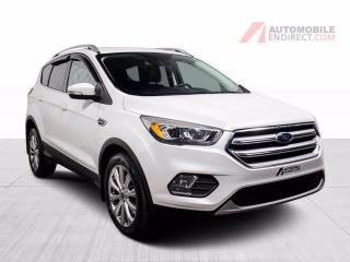 Used 2017 Ford Escape TITANIUM AWD CUIR MAGS NAV CAMERA DE RECUL for sale in St-Hubert, QC