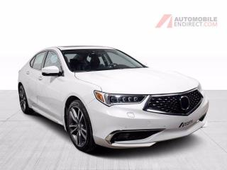 Used 2019 Acura TLX ELITE SH-AWD CUIR TOIT NAV for sale in St-Hubert, QC