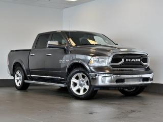 Used 2016 RAM 1500 Limited CREW CAB cuir gps sièges chauffants for sale in Ste-Julie, QC