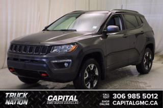 Used 2018 Jeep Compass Trailhawk*LEATHER*SUNROOF* for sale in Regina, SK
