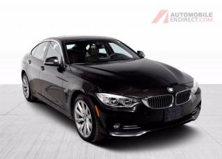 Used 2015 BMW 4 Series 435i Gran Coupé xDrive M Pack Cuir Toit GPS for sale in Île-Perrot, QC