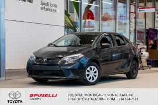 Used 2014 Toyota Corolla CE FREINS NEUF AVANT! for sale in Lachine, QC